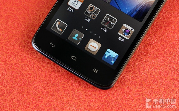 华为g716采用了虚拟按键的设计