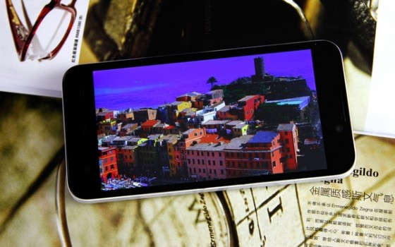 Front-facing camera while the three traditional touch Android keys ar…